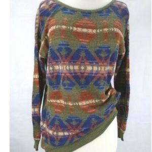 Ralph Lauren Aztec Oversize Sweater